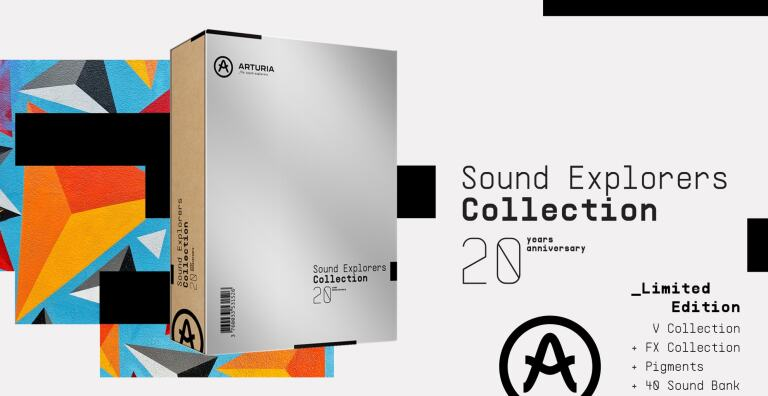 ARTURIA SOUND EXPLORERS COLLECTION PACK
