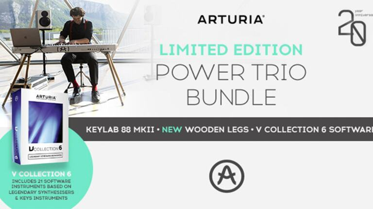 ARTURIA KEYLAB 88 MK2 POWER TRIO BUNDLE FEATURE