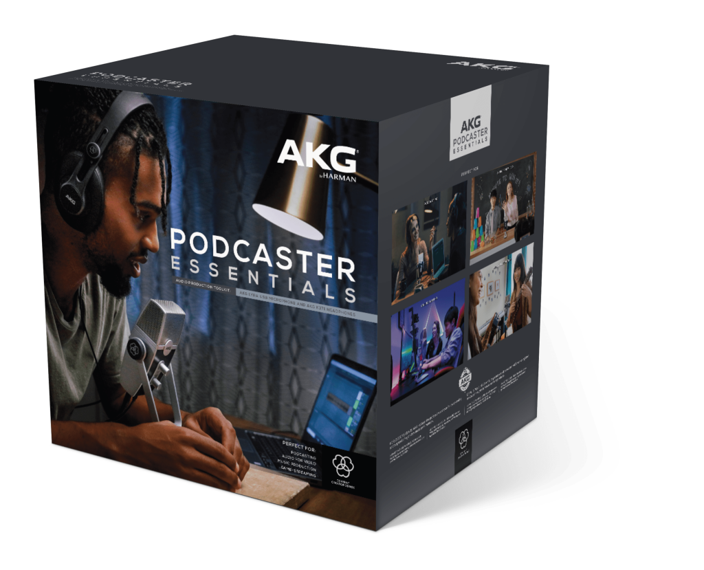 AKG Podcasting Kit